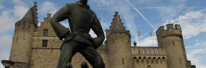 """Lange Wapper, Het Steen, Antwerp"" (by Marray, licensed with CC BY-NC-ND 2.0)"